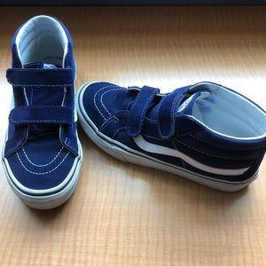 Boys Vans High Tops in Blue - Size 5
